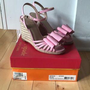 Kate Spade Pink Espadrilles- 8.5