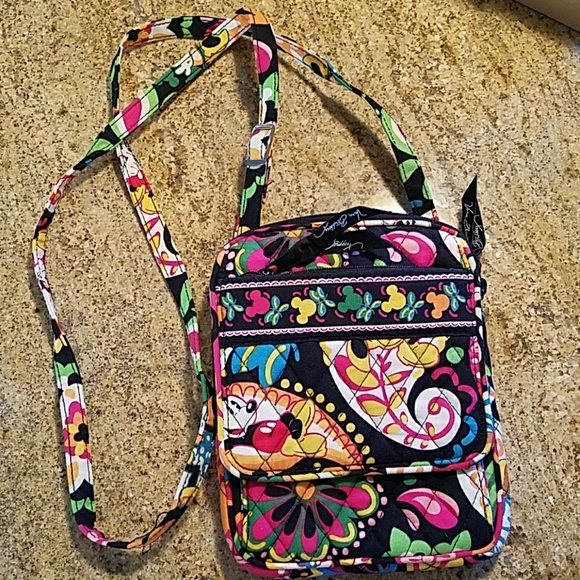 Walt Disney World Vera Bradley Mini Hipster Purse.  M 5a29444a680278477100b3b9 d84ebc668d8b9