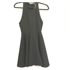 Kimchi Blue • Black skater dress • XS • Worn once