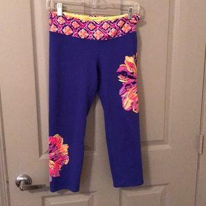 Lilly Pulitzer Luxletic leggings crop