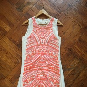 Shoshanna Sequin Sheath Dress