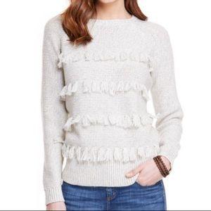 NWT Vineyard Vines Cashmere Wool Fringe Sweater