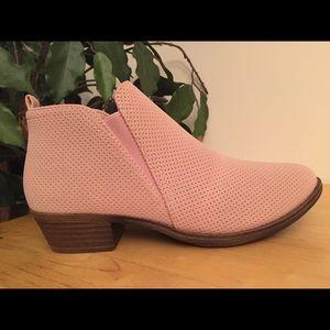 Bootie Women's Almond Toe Stretch Slip On Ankle