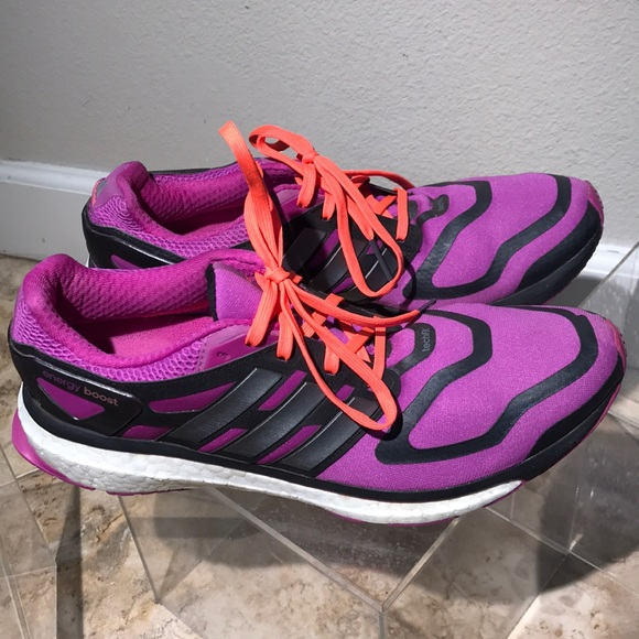 adidas Shoes Salg Energy Boost Techfit løb 8Poshmark Running Energy Boost Techfit W 105 Poshmark