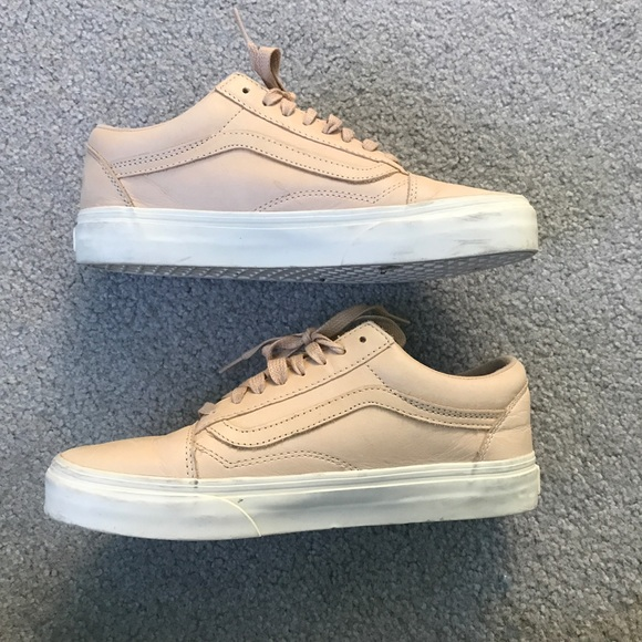 c3d6f46607 Vans Classic Old Skools in nude pink leather. M 5a29531c4225be120000e31c.  Other Shoes ...