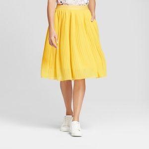 Dresses & Skirts - Yellow A-Line Skirt
