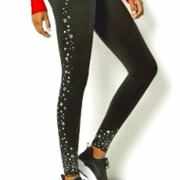 2628827cd865e Victoria's Secret Pants | Bnwt Vs Sport Knockout Tight Shimmer Star ...