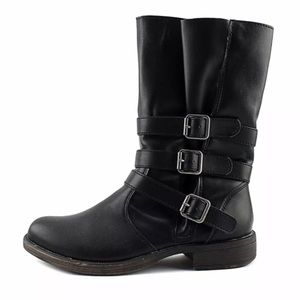 Rampage Rainer black motorcycle boot size 9