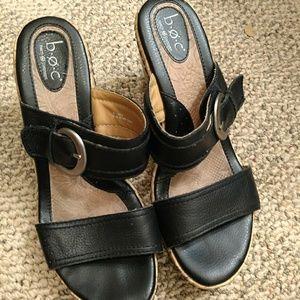BORN wedge heels