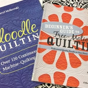 Accessories - 2 Free-Motion Quilting Books NWT