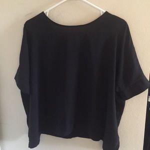 ASOS Size 4 Black Oversized Top