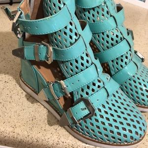 Jeffrey Campbell Hipster Wedge Sneaker