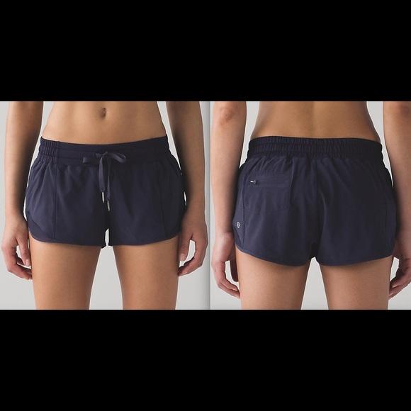 673f5437047 lululemon athletica Shorts | Lululemon Hotty Hot Short 25 Midnight ...