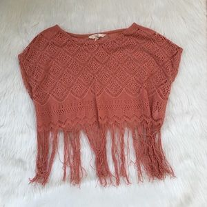 Festival Fringe Crop Top