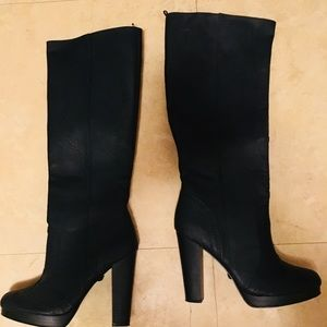 H&M Black under the knee boots