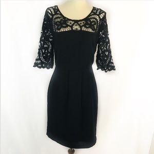 Esley lace sleeve dress