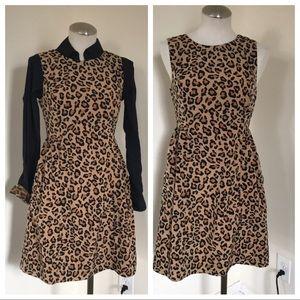 GAP Leopard print dress in EUC
