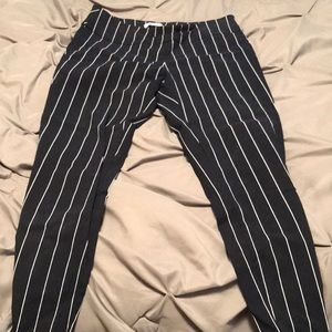 Navy Legging Dress Pants