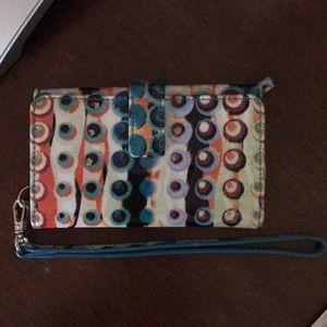 Lodis wristlet wallet