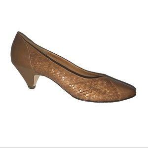 Vintage Leather Heels