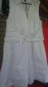 Lane bryant white dress