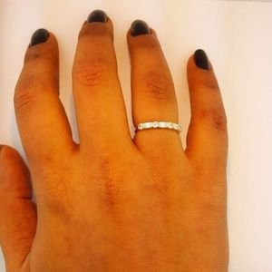 Jewelry - 14k Solid Yellow Gold 0.50 Ct Wedding Band