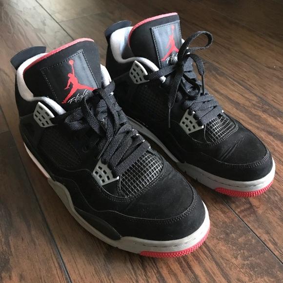49bbd879d40 Jordan Other - Jordan retro 4 Bred Cement Black Fire Red size 9