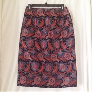 Vintage Brocade Skirt