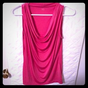 Silky Hot Pink Cami