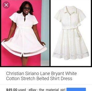 Christian siriano for lane bryant dress