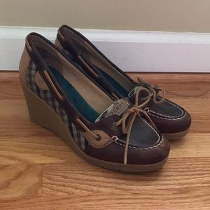 Sperry Wedge Boat Shoes