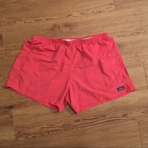 Patagonia Women's Baggies Swim Short XL Salmon