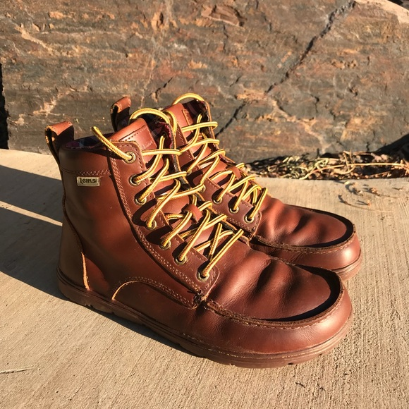 2f2a023fbc3 Lems Boulder Boot Leather Russet (Men's)