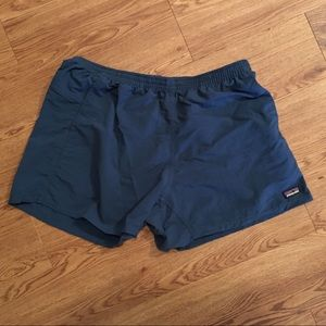 Patagonia Women's Baggies Swim Short XL Navy