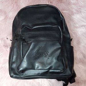Vintage leather backback