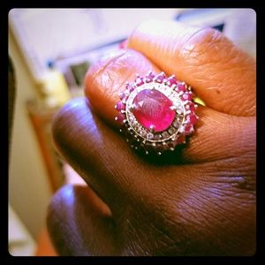 Beautiful ruby ring!