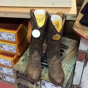 Men's real cowboy boot