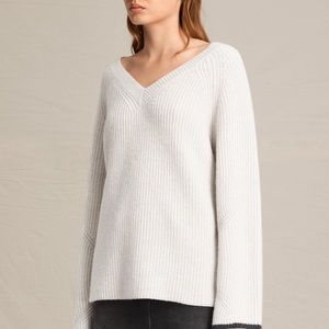 ALL SAINTS // Daria v neck oversize sweater