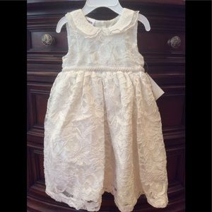 Other - Gorgeous Little girls Pearl Ivory Dress