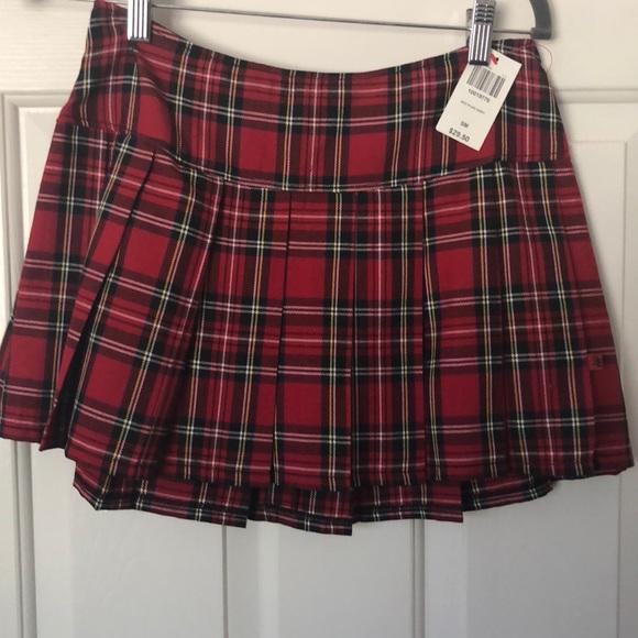 3bc567e1a7 Royal Bones Skirts   New Tartan Plaid Mini Pleated Skirt   Poshmark