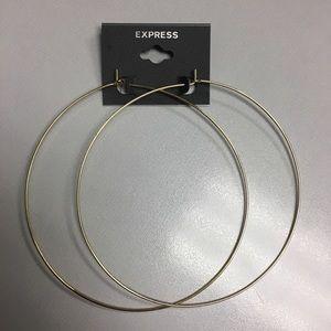 Express Large Hoop Earring NWT