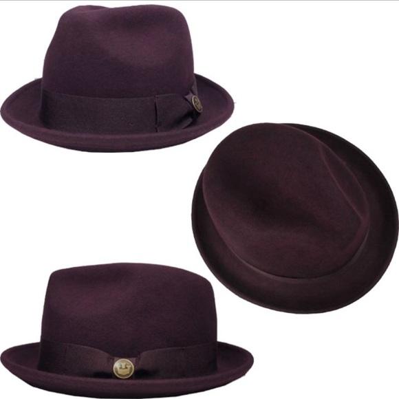 2a9ab377 Goorin Bros Accessories | Good Boy Fedora Hat Purple | Poshmark