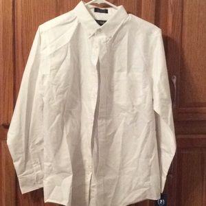 NWT Izod button down dress shirt boys size 18
