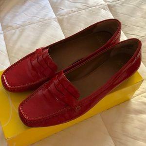 Circa Joan & David 'Vali' Red Loafer - size 8.5
