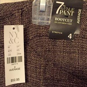 NY&C Bootcut Dress Pants