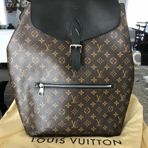 Louis Vuitton Handbags - Louis Vuitton Palk Monogram Backpack 35409ec1fdc1f