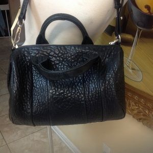 Alexander Wang Black Studded Leather Bag