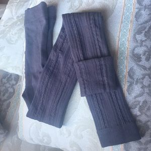 Other - Like new THICK footless tights inside fleece