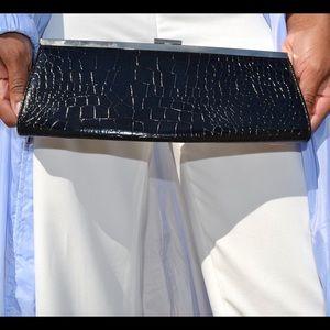 Handbags - Snakeskin Clutch