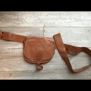 Urban Outfitters belt bag leather fanny pack
